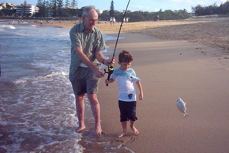 Grandad Fishing Memoir