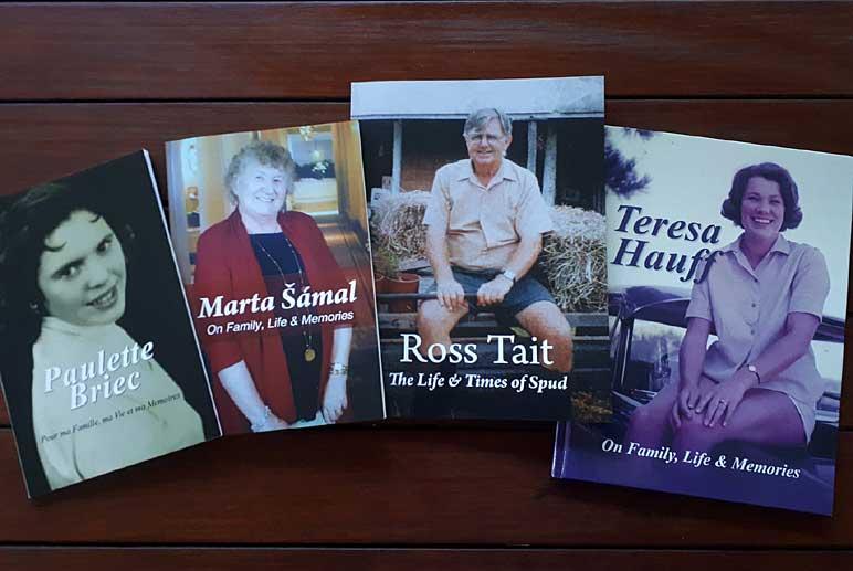 Memoir Book Covers
