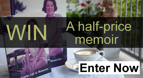 Win a half priced memoir